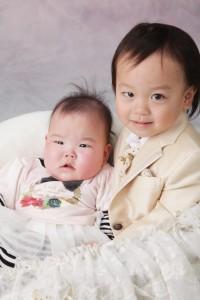 兄妹K様のベビー&キッズフォト サンプル写真