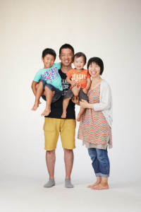 G様の家族写真