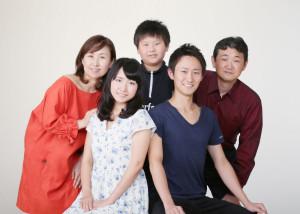 i様の家族写真