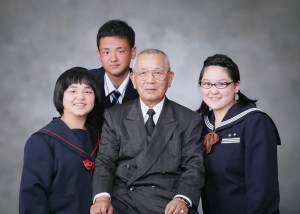 M様の卒業記念写真