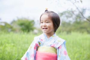 2歳のお誕生写真