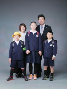 家族写真T様のサンプルフォト