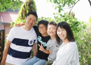毎年恒例A様の家族写真