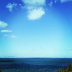 淡路から見る海