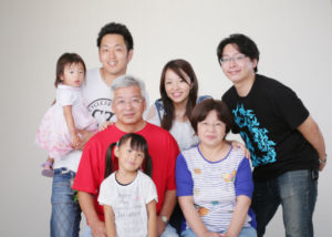 H様の家族写真