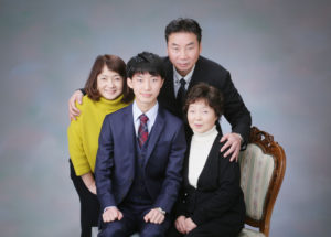 K様の家族写真