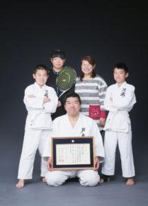 T様の家族写真