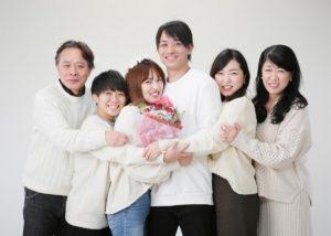 E様の家族写真