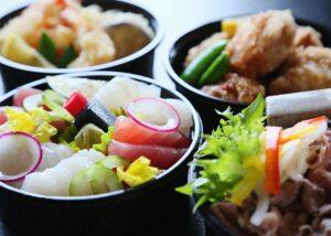 日本料理のテイクアウトメニュー写真2