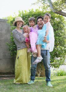 撮影会Bさんの家族写真