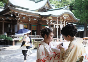 K様のお宮参り写真ロケ撮影6