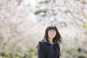 H様の入学記念写真桜ロケ2